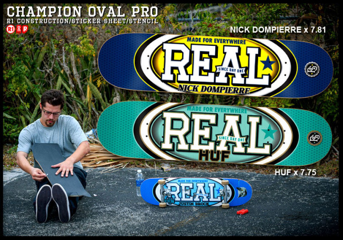 REAL CHAMPION OVAL